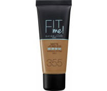 'Fit me! Matte+Poreless' Make-up braun