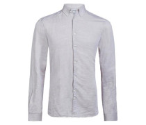 Leinen Twill-Hemd Daniel CL beige
