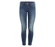 'Scarlett' Skinny Jeans dunkelblau