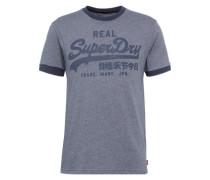 T-Shirt 'vintage Logo Ringer Tee' blau