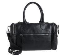 Leder-Tasche schwarz