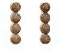 Hänge-Ohrringe gold