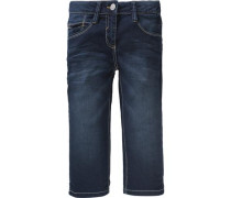 3/4-Jeanshose blue denim