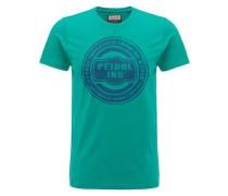 T-Shirt blau / grün