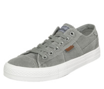 Sneaker low aus Canvas khaki