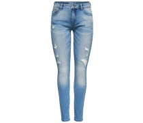 'Carmen 2 reg' Skinny Fit Jeans blue denim