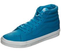 Sk8-Hi Slim Neon Leather Sneaker türkis