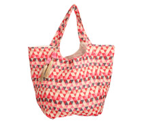 Shopper 'Cale Mansion' creme / pink