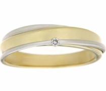 jewels Goldring gold / silber / weiß