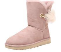 Boots mit Fellfutter 'Irina' rosé