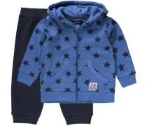 Baby Sweatanzug für Jungen blau / nachtblau