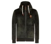 Male Zipped Jacket 'Birol Mack IV' oliv