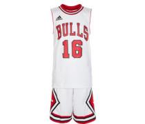Chicago Bulls Minikit Kinder weiß