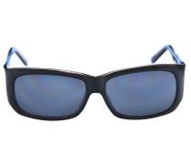 Sonnenbrille aubergine / violettblau / schwarz