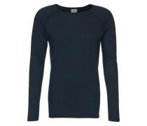 Langarmshirt 'Otto Raw' blau