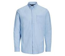 Lässiges Hemd hellblau