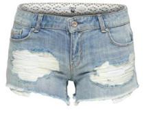 Jeansshorts Coral suplerlow lace blau