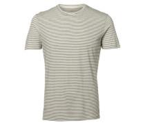 Rundhalsausschnitt- T-Shirt schwarz / weiß