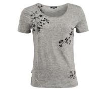 Shirt 'isla' anthrazit / graumeliert