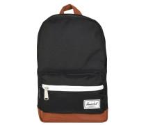 Pop Quiz Kids Backpack Rucksack 33 cm braun / schwarz / weiß