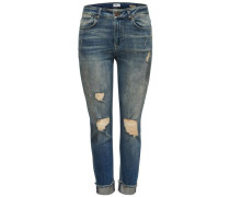 Boyfriendjeans 'Destroy-Lima Deluxe' blue denim