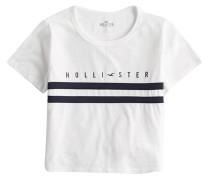 Shirt marine / weiß
