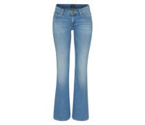 Boot-Cut Jeans 'annetta' blau