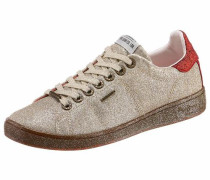 Sneaker 'brompton Part' gold / rot