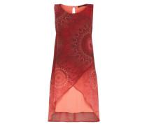 Lockeres Kleid rot