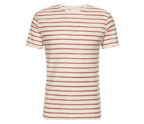 T-Shirt rot / offwhite