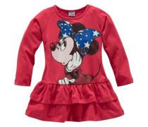 Jerseykleid mit Minnie Mouse Druck rot