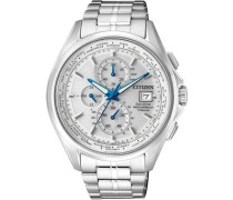 Funkchronograph 'at8130-56A' silber