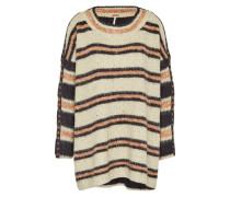 Oversize-Pullover beige