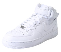 Sneaker High 'Air Force 1 '07 Mid' weiß