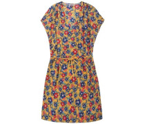 Kleid 'thdw PRT Dolman SLV Dress S/S 41' blau / gelb / grün / rot