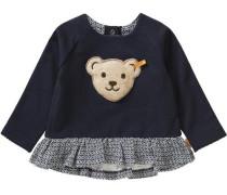 Baby Sweatshirt für Mädchen blau