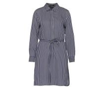 Blusenkleid mit Seide dunkelblau