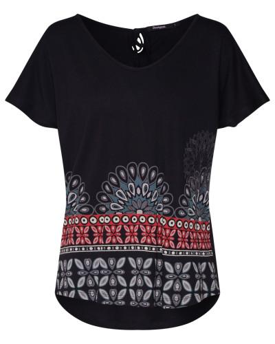 Shirt 'ts_Uma' mischfarben / schwarz