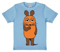 T-Shirt Maus - Die Sendung mit der Maus blau