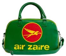 Umhängetasche 'Air Zaire - Airlines' grün