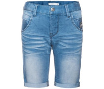 Jeansshorts 'Titan' blue denim