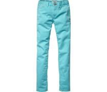 Hose »Sena Slim Pant« blau