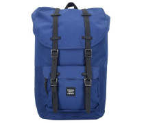 Little America 17 Backpack Rucksack 52 cm Laptopfach blau