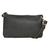 Crossbody Bag 'PCPilla' schwarz