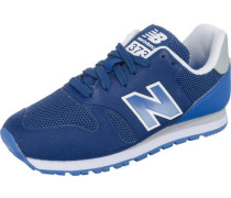 Kinder Sneakers blau / dunkelblau