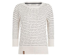 Pullover 'Maja with melons' beigemeliert