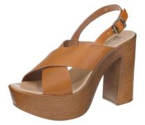 Sandaletten ocker
