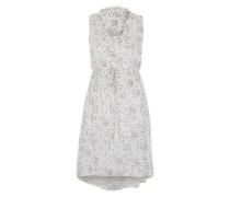 Ärmelloses Kleid 'Thit 3' creme / schwarz