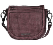 Cut it Vintage Dimension Handtasche Leder 35 cm braun