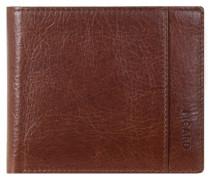 Buddy Geldbörse Leder 11 cm braun